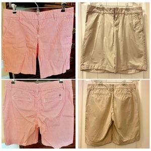 TWO Pairs of Tommy Hilfiger Shorts Size 4